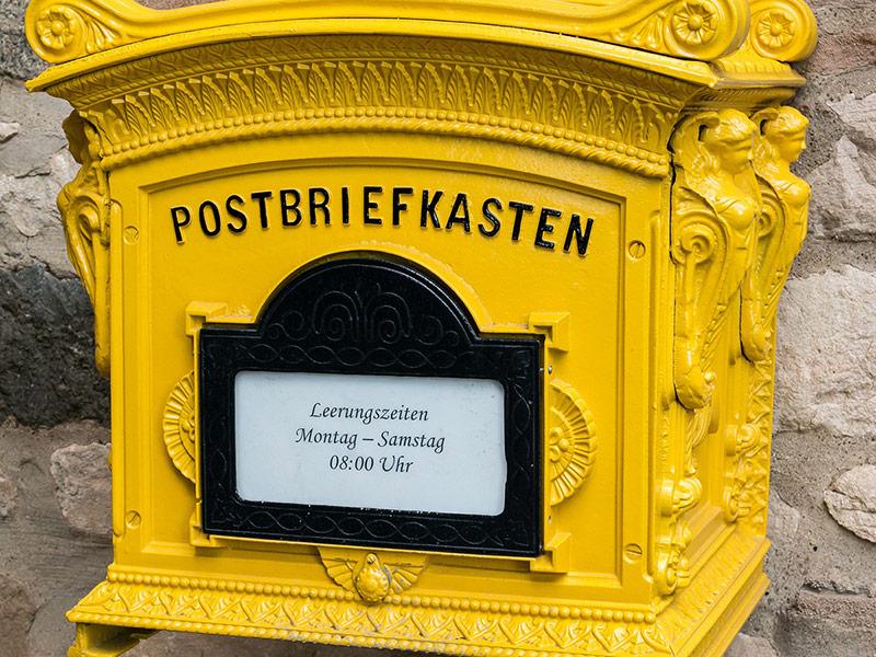 Gallery Postwurf